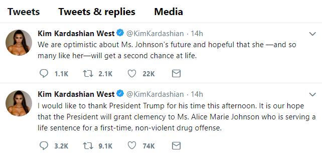inspiration: Kim Kardashian tweets