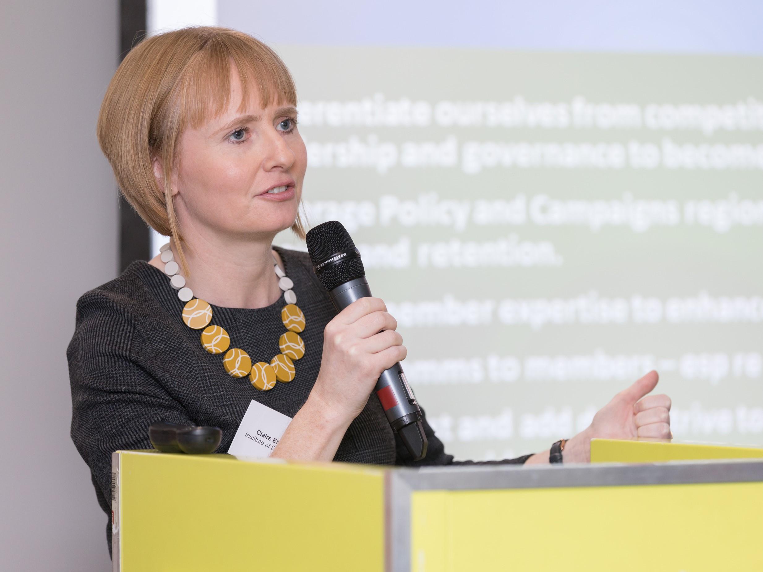 Institute of Directors Claire Ebrey