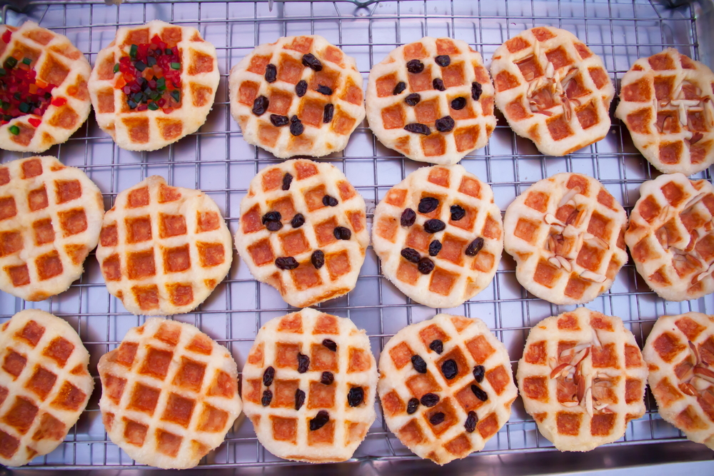 Manchester Food Festival: Waffles street food