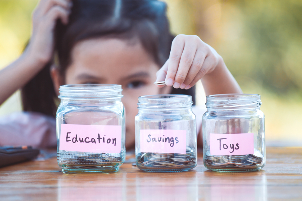 Teaching children good money habits